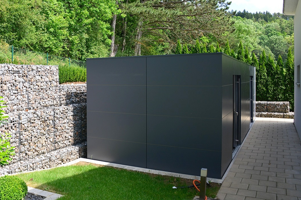 design gartenhaus aus metall my blog. Black Bedroom Furniture Sets. Home Design Ideas